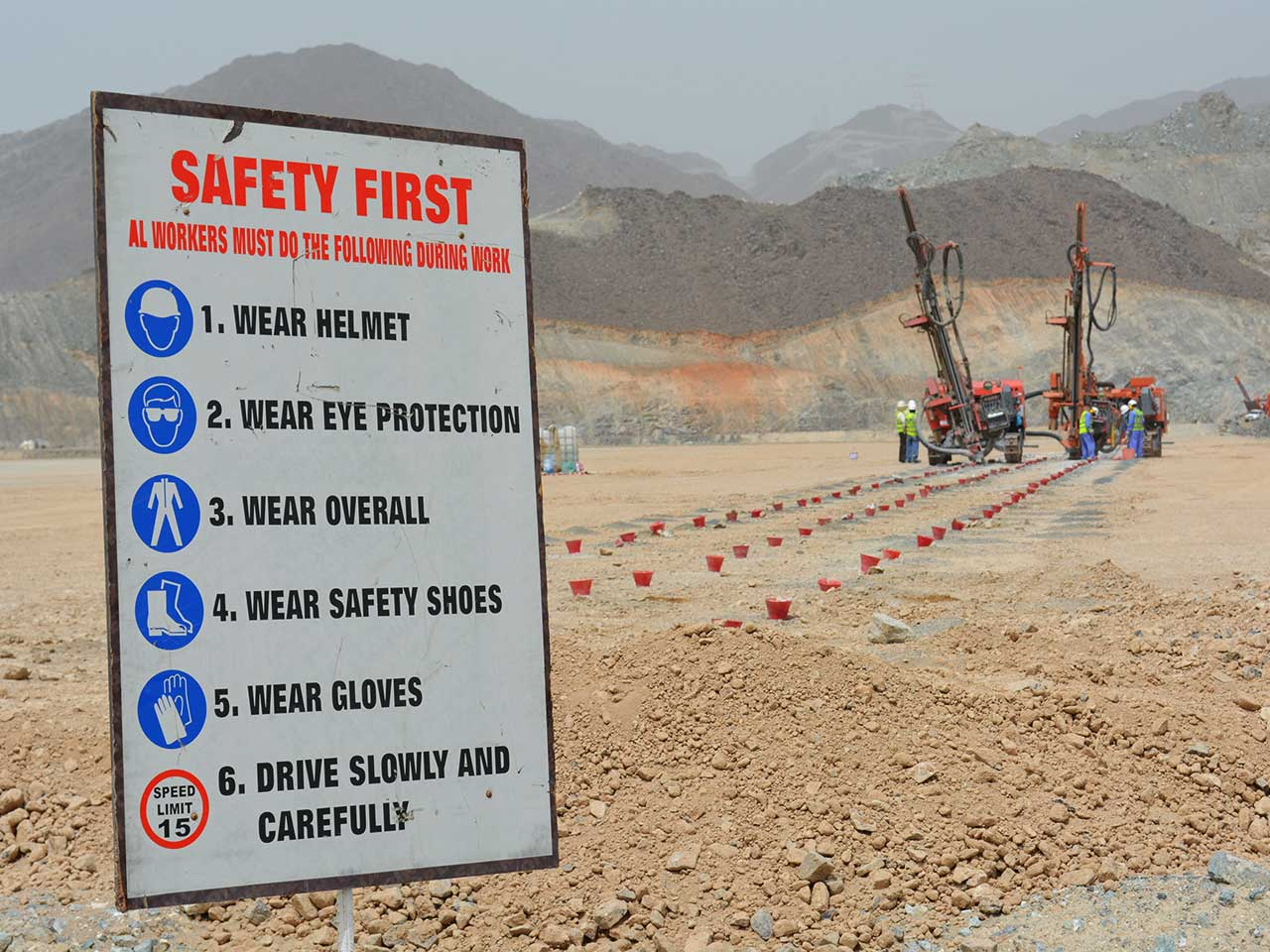 Rock Blasting Safety : Rock drilling blasting gulf